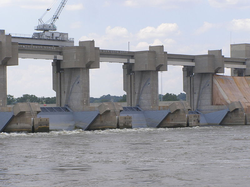 Melvin Price Locks and Dam Industrial Panel Solutions Mississippi River