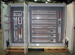 IPS fabricates complex control panel for wood pellet dry grinding